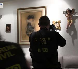 Sis detinguts per falsificar i vendre quadres de pintors modernistes
