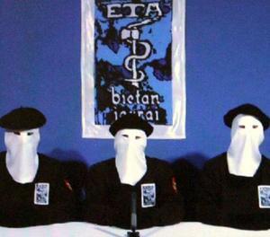 Imatge d'arxiu de membres de la banda terrorista ETA.