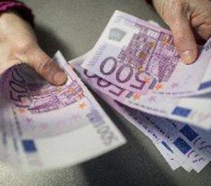 El nombre de bitllets de 500 euros cau a nivells del desembre del 2003