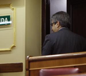 Homs a l'hemicicle del Congrés.