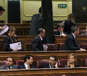 Diputats nacionalistes i Podem abandonen el ple en solidaritat amb Homs