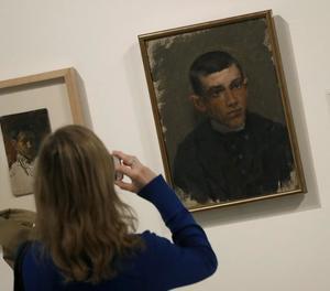 Retrats de joventut de Picasso a l'exposició de Barcelona.