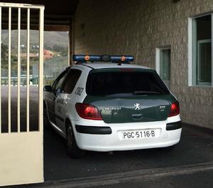 Imatge d'arxiu d'un vehicle de la Guàrdia Civil-