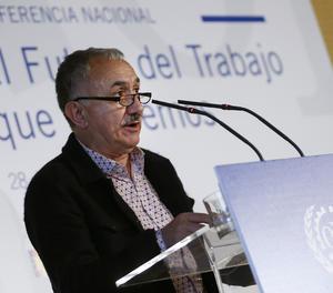 El secretari general d'UGT, Pepe Álvarez.