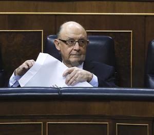 El ministre d'Hisenda i de Funció Pública, Cristóbal Montoro