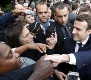 El moviment de Macron diu haver patit un