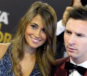 Antonella i Messi