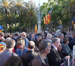 Corominas i Barrufet han estat acompanyats per autoritats del Govern i centenars de ciutadans.