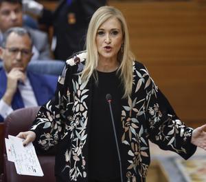 La presidenta regional de Madrid, Cristina Cifuentes.