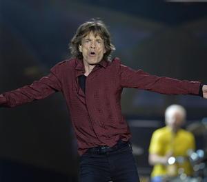 El cantant dels The Rolling Stones, Mick Jagger,