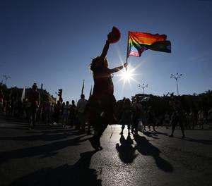 Una manifestació de l'orgull LGTB