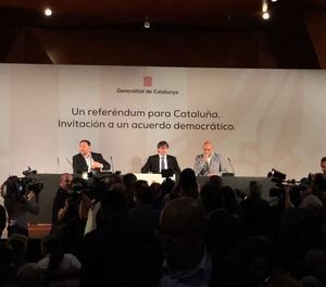 Un moment de la conferència a Madrid