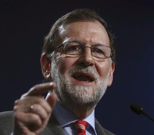 El president del Govern, Mariano Rajoy.