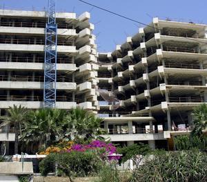 Una construcció de pisos