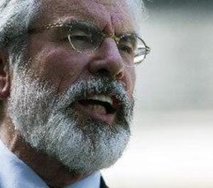 El líder del Sinn Féin Gerry Adams preveu la unificació d'Irlanda en