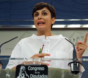 La portaveu del PSOE, Isabel Rodríguez.