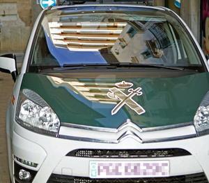 Un vehicle de la Guàrdia Civil
