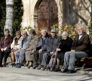 Un grup d'ancians