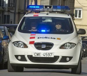 Un vehicle dels Mossos d'Esquadra.
