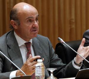 El ministro de Economia, Luis de Guindas.