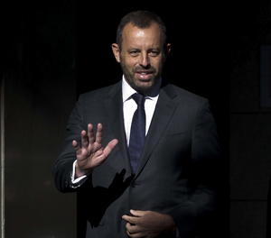 L'expresident del FC Barcelona Sandro Rosell.