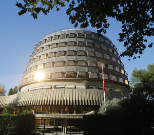 L'edifici del Tribunal Constitucional.