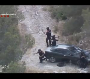 VÍDEO. Moment de la detenció del pistoler de Gavà