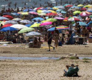 Alerta groga a Lleida aquest dimecres amb temperatures d'entre 36 i 39 graus
