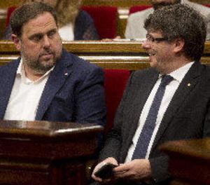 Puigdemont es reuneix amb consellers entre malestar intern pel referèndum