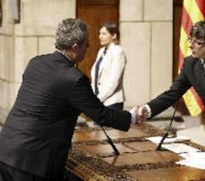 El nou conseller no descarta canvis després de parlar amb el director dels Mossos