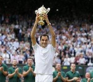 Federer regna a Wimbledon per vuitena vegada