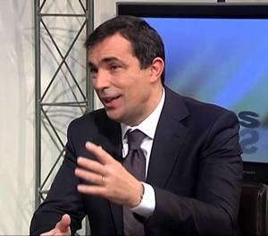 Pere Soler, en una imatge de Youtube.