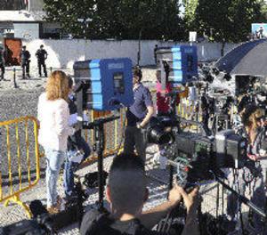Rajoy arriba pel garatge a l'Audiència per declarar com a testimoni a Gürtel