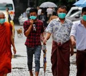 Dos morts i tretze d'infectats per grip porcina a Birmània