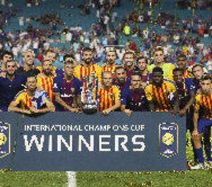 El Barça venç el clàssic de Miami en un duel emocionant i inusual