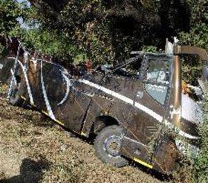 Moren quatre espanyols i set resulten ferits en un accident d'autobús a l'Índia