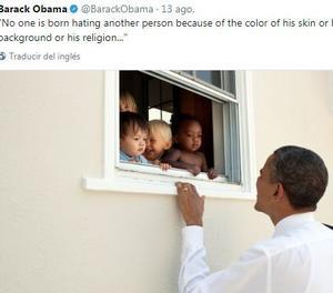 Un tuit d'Obama sobre Charlottesville és el missatge amb més 'm'agrada' de Twitter