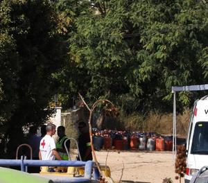 Els terroristes emmagatzemaven explosius i bombones de gas a Alcanar.