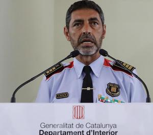El major dels Mossos, Lluïs Trapero.