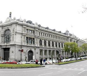 La façana del Banc d'Espanya