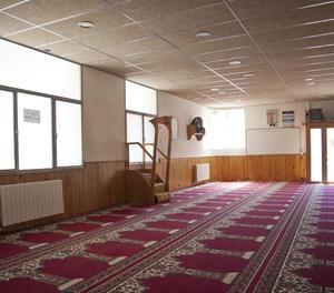L'interior de la mesquita de Ripoll.