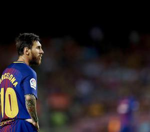 El jugador del FC Barcelona Leo Messi.