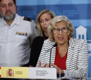 L'alcaldessa de Madrid, Manuela Carmena-