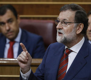 El president del Govern, Mariano Rajoy,
