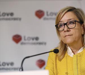 La presidenta de l'AMI, Neus Lloveras.