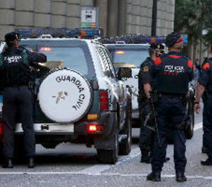 El ministeri de l'Interior afirma haver assumit la coordinació dels Mossos
