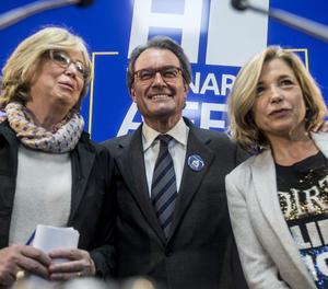 Irene Rigau, Artur Mas i Joana Ortega.