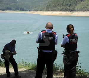 Mossos troben dos cadàvers en pantà Susqueda, on buscaven dos joves