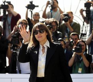 L'actriu italiana Monica Bellucci, ahir a l'arribar a Sant Sebastià.