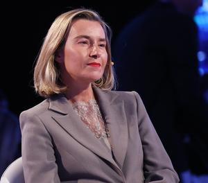 L'alta representant de la UE per a la Política Exterior, Federica Mogherini.